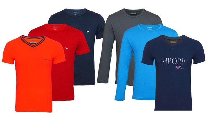 faf01e56c61e77 T-shirt homme Emporio Armani   Groupon Shopping