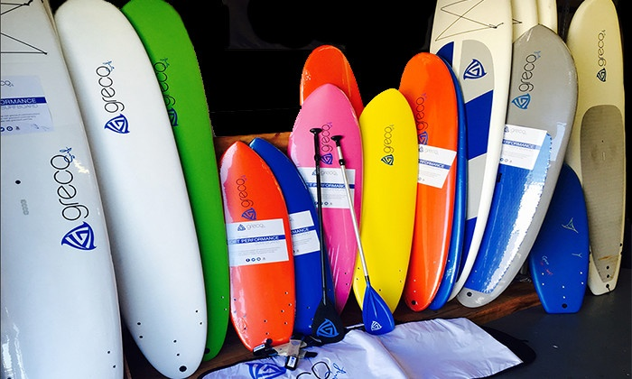 Greco Surf - Greco Surf: Surfing and Standup-Paddleboarding Gear at Greco Surf (50% Off). Two Options Available.
