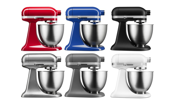 Up To 53% Off on KitchenAid 3.5-Qt Stand Mixer | Groupon Goods