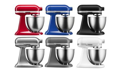 KitchenAid 3.5-Qt Artisan Mini Stand Mixer (Refurbished). 6 Colors Available. photo