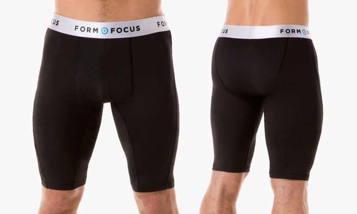 Form + Focus Men's Compression Performance Shorts | Groupon Exclusive