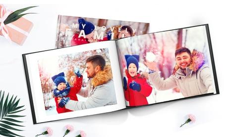 Hasta 5 fotolibros tapa dura fotográfica A4 de 100 pág. Especial Navidad con Printerpix (hasta 93% de descuento)