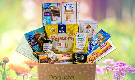 $7.99 for First Month of Surprise Food Delivery from Degustabox ($19.99 Value)