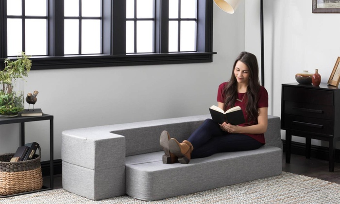 low priced 0c336 371b9 Up To 44% Off on Convertible Foam Mattress   Groupon Goods