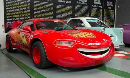 London Motor Museum: Single or Family Ticket, 1 July 1 September