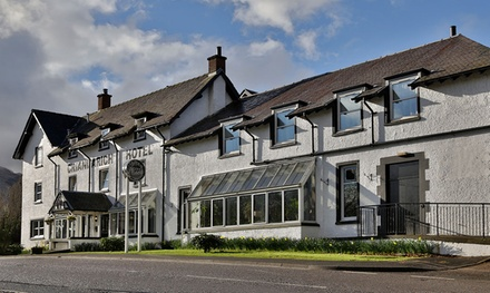 Loch Lomond National Park: Standard Room for Two with Full Scottish Breakfast at Best Western The Crianlarich Hotel
