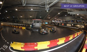 F1 Boston: Kart Race or Pub Food at F1 Boston (Up to 45% Off)