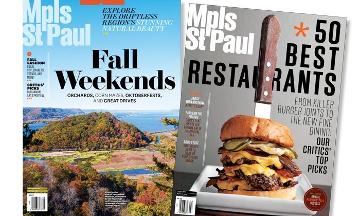 "Mpls.St.Paul Magazine - Minneapolis / St Paul: One- or Two-Year Subscription to ""Mpls.St.Paul Magazine"" (Up to 50% Off)"