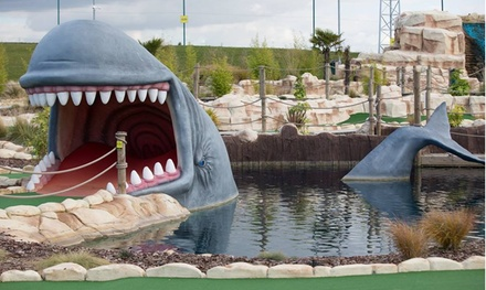 Adventure Golf Entry for One Adult or Child or a Family of Four at Golf Kingdom (Up to 34% Off)