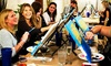 PaintSpace Art Lounge - PaintSpace Art Lounge: Painting Party for One or Two at PaintSpace Art Lounge (Up to 51% Off)