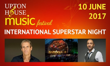 General Admission or Gold Circle Ticket to See Michael Bolton, 10 June at Upton House & Country Park