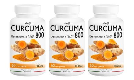 Hasta 720 cápsulas de Curcuma 800 360° Line@Diet con efecto adelgazante
