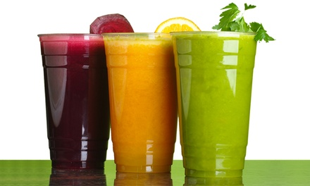 Juice and Smoothies at Dulce Vida Juice Bar (Up to 47% Off). Two Options Available.