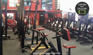 Km Fitness Academia - Unidade I: 1, 3, 6 ou 12 meses de academia com matrícula na Km Fitness Academia - 3 unidades