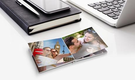 1 fotolibro personalizable de 20 páginas en tamaño 9,5 x 9,5 cm en Printer Pix (descuento del 94%)