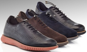 Solo Men's Lace-Up Perforated Fashion Sneakers