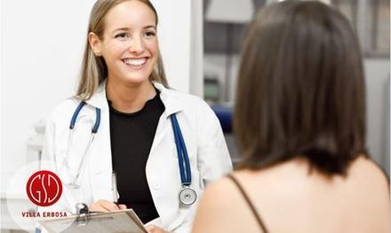 Visita ginecologica e pap test a 39,90€euro