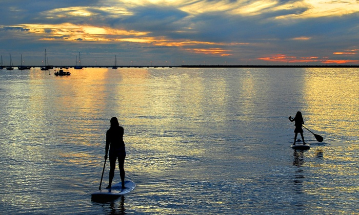 Belle Harbour Marina - Tarpon Springs: Two-Hour Standup-Paddleboard Rental for One or Two at Belle Harbour Marina (Up to 50% Off)