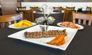 Los Ranchos Steakhouse Bayside: Latin American Steakhouse Food for Two or More at Los Ranchos Steakhouse Bayside (40% Off). Two Options.