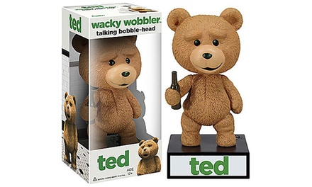 Wacky Wobbler Talking Ted Bobble-Head Figure from £7 (Up to...