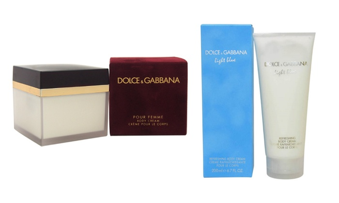 Dolce & Gabbana Light Blue or Pour Femme Women