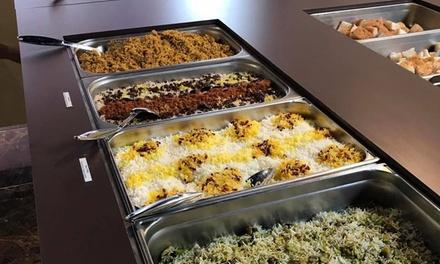 Grillades à la pierre de lave et buffet cuisine du monde à volonté pour 1, 2, 4 ou 6 pers. dès 11,99€ au Restaurant Mazé