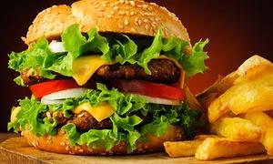 Burgerownia Gocław: Dowolny burger w zestawie z frytkami lub napojem od 19,99 zł w Burgerowni Gocław (do -34%)
