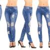 Women's Destroyed or Paint Splatter Jeans (Sizes 4 & 6)