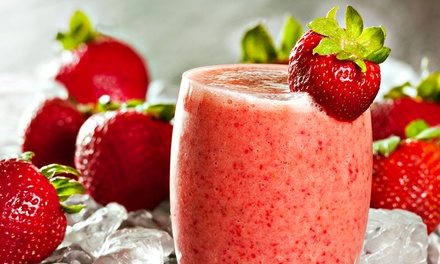 Punch Card for Three or Five 20-Ounce Smoothies at Jake's Juice Bar (Up to 34% Off)