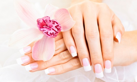 SNS Manicure $25, or $39 to Add Shellac Pedicure at Xinh Dep Beauty & Nails Up to $70 Value