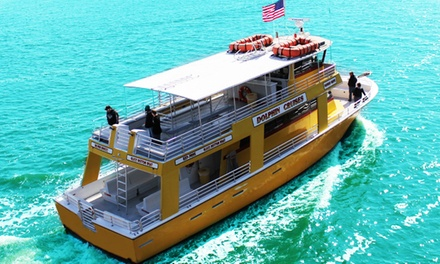 Dolphin-Watching Cruise from The Sunny Lady Dolphin Cruise at The Wharf (Up to 55% Off). Three Options Available.