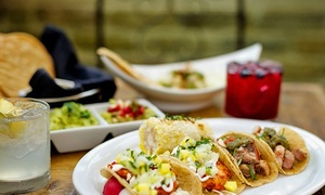 Verde Kitchen & Cocktails: Gourmet Mexican Food for Dinner, Lunch, or Take-Out at Verde Kitchen & Cocktails (38% Off)