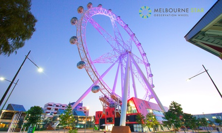 Melbourne Star Observation Wheel Flight Pass: One Child Aged 5-15 ($11) or One Adult ($18)
