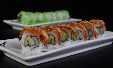Charlois: 2,5 uur onbeperkt sushi en grill inclusief een glaasje bubbels bij I Asian Fusion vanaf 2 personen