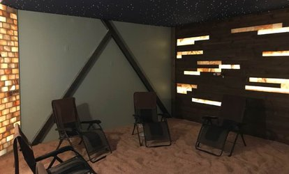 image for One or Three 45-Minute Salt Therapy Session at Kansas City Salt Mine (Up to 27% Off)