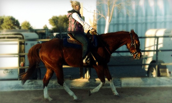 Las Vegas Riding Academy - Enterprise: Two-Hour Winter Horse Camp for One or Two Children (Up to 58% Off)