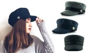 (Mode)  Chapeau-casquette femme en feutre  -70% réduction