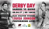 Saracens v Harlequins at Wembley Stadium, Child, Adult or Family Ticket, Saturday 8 April 2017 (Up to 29% Off)*