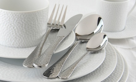 One or Two Apollo Martele16Piece Stainless Steel Cutlery Sets