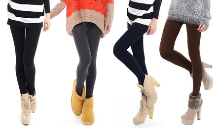 Pack 5 leggings termici disponibili in 2 taglie a 12,90 € (57% di sconto)