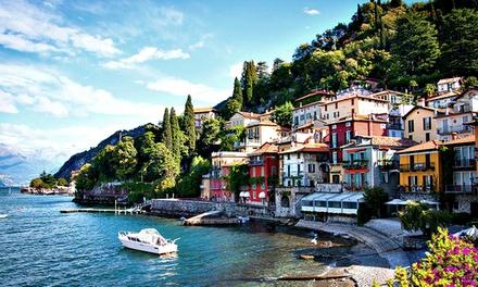 Colico/Comer See: 2-6 Tage für 2 Personen mit Frühstück, opt. mit 1x Dinner, im Hotel Lago di Como