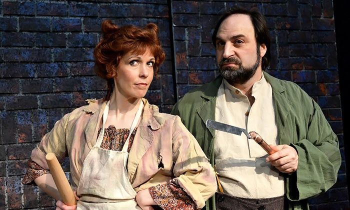 """Theatre Harrisburg - Whitaker Center: """"Sweeney Todd: The Demon Barber of Fleet Street"""" at Whitaker Center on May 2–11 (Up to 66% Off)"""