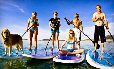 1-Hour Standup-Paddleboard Rental (a $20 value) - Xtreme Kites in Miami Beach