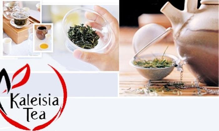 Kaleisia Tea Lounge  - Tampa: $15 for $35 Worth of Loose-Leaf Tea at Kaleisia Tea Lounge