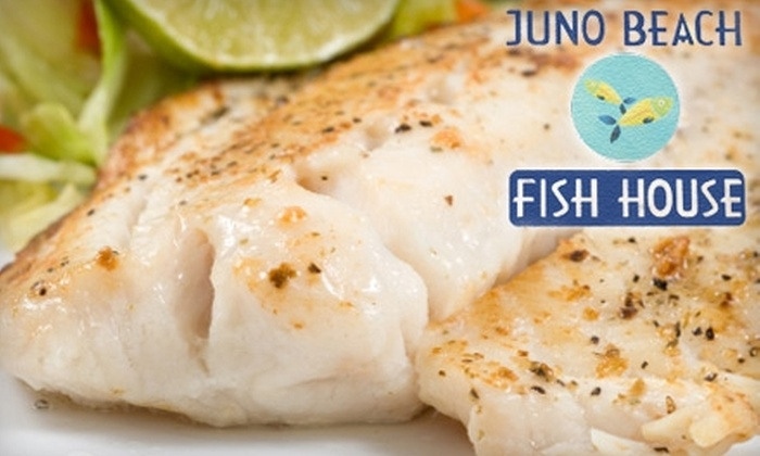 Juno Beach Fish House - Juno Cove North: $15 for $30 Worth of Dinner Fare at Juno Beach Fish House (or $7 for $15 Worth of Lunch)