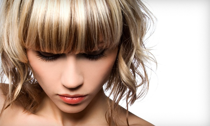Fringe Hair Studios - Tucson: Haircut Package with Optional Makeup Session at Fringe Hair Studios