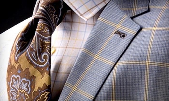 Carriages Fine Clothier - Mid City South: Men's Clothing and Suits at Carriages Fine Clothier