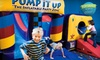 Pump it Up - Cincinnati - West Chester: 6 or 12 Pop-In Inflatable Play-Center Sessions at Pump It Up (Up to 52% Off)