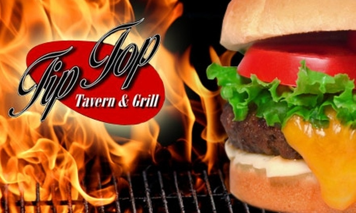 Tip Top Tavern - Central Indianapolis: $15 for $30 Worth of Classic All-American Fare at Tip Top Tavern & Grill ($30 Value)