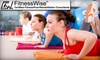 FitnessWise - Bethesda: $29 for Ten Group Fitness Classes at FitnessWise